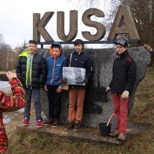 """Projekts """"Kusas ciemata skatu punkti"""" 15.04.2015."""